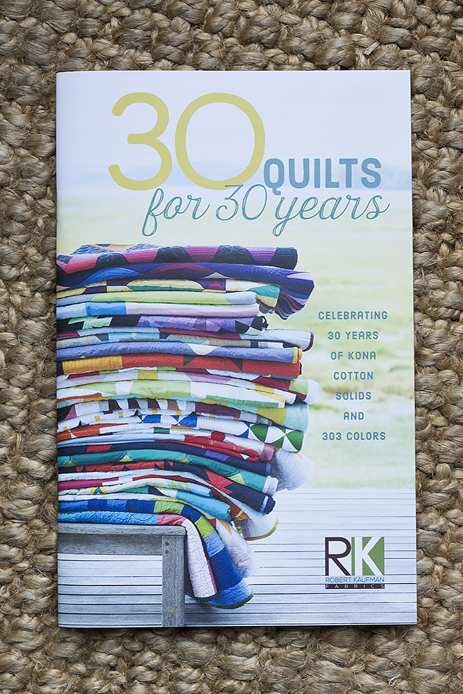 30 Quilts For 30 Years, Kona Cottons Lookbook: Fresh Lemons Quilts