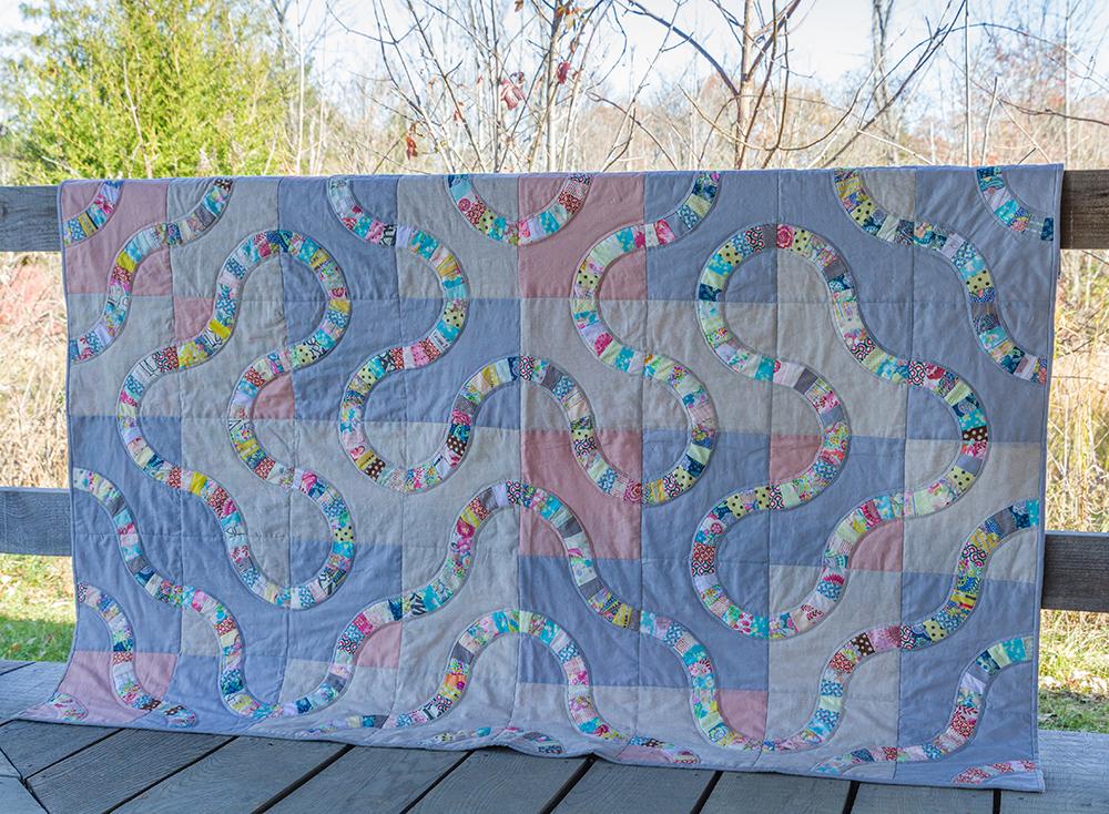 Snake Trail Quilt by Lorellen Moore : Fresh Lemons Quilts
