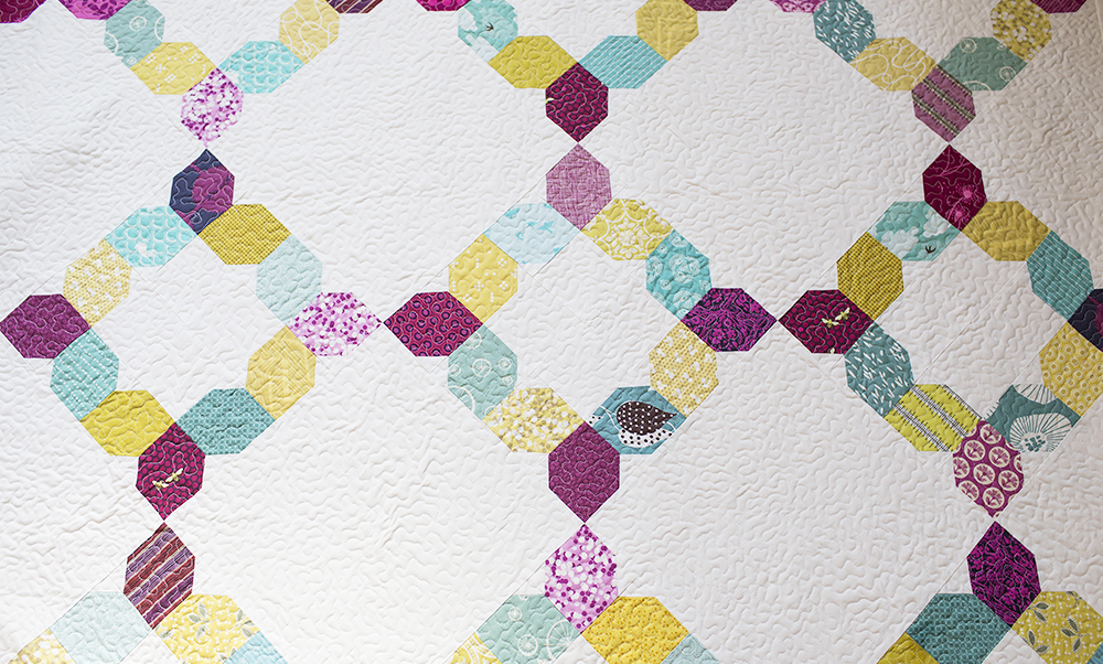 Unraveled, a quilt by Faith Jones for Scraps, Inc : Fresh Lemons Quilts