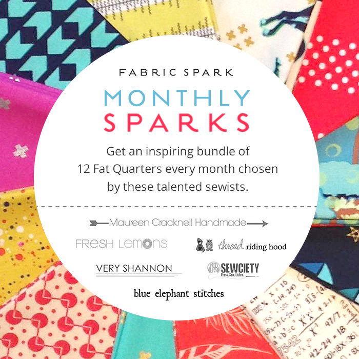 Monthly Sparks and Fabric Spark : Fresh Lemons Quilts