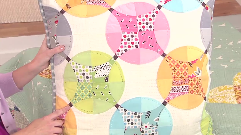 Sewing Techniques for Accurate Curved Piecing by Angela Pingel
