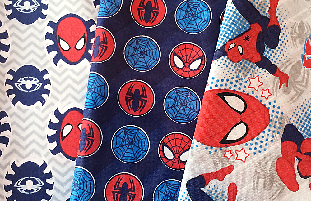 Spidey Quilt Fabric : Fresh Lemons Quilts