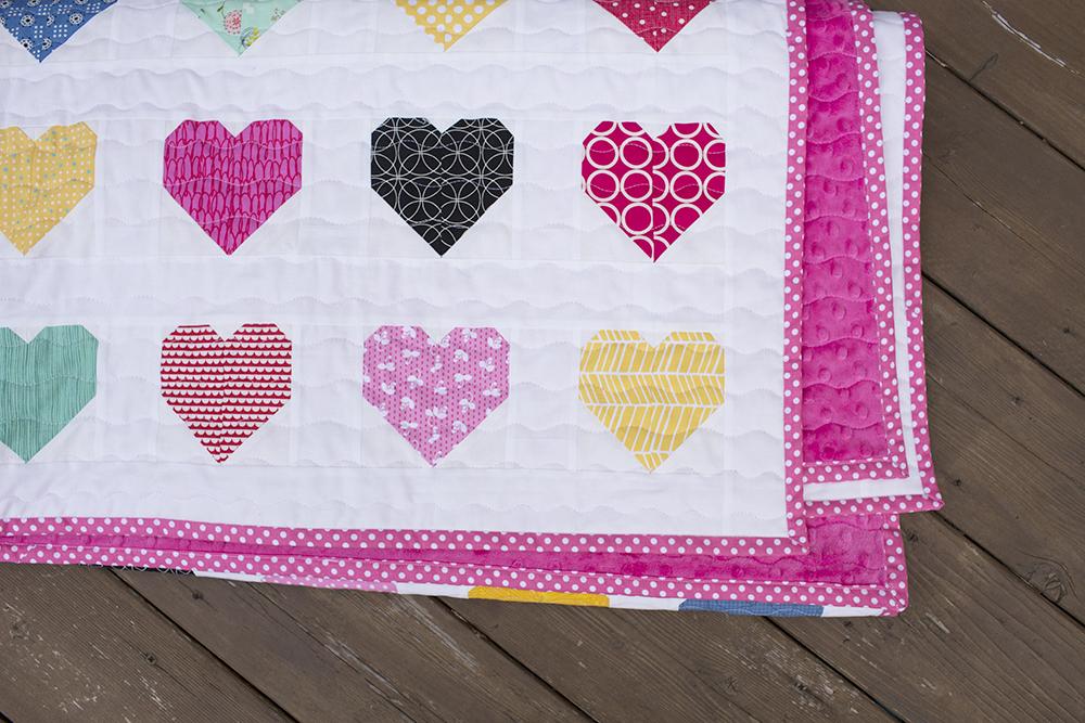 Hanna Hearts Quilt : Fresh Lemons Quilts