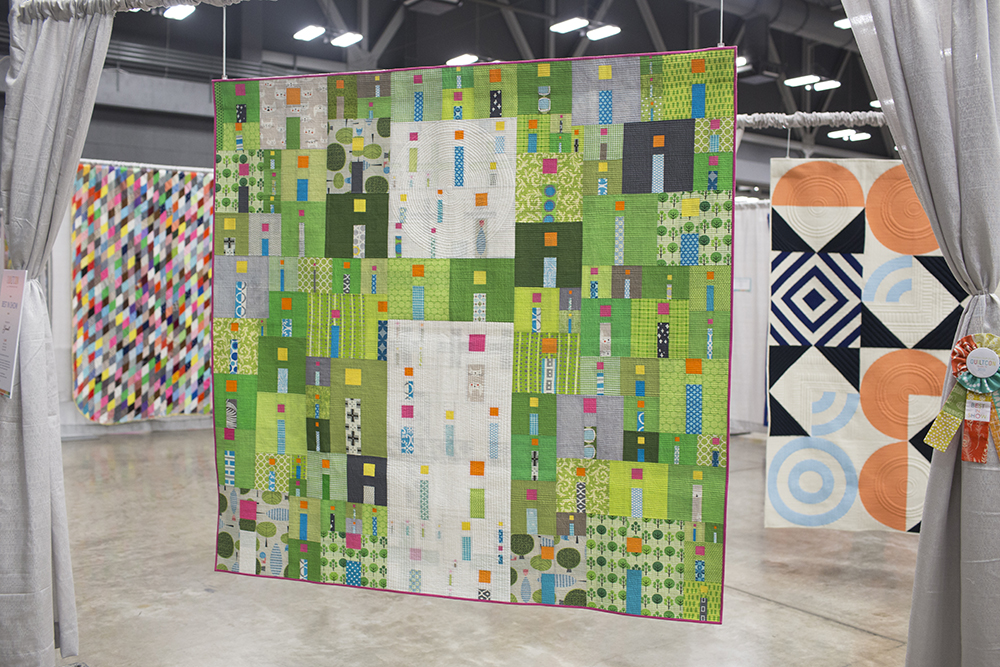 QuiltCon 2015: Best in Show: i Quilt by Kathy York