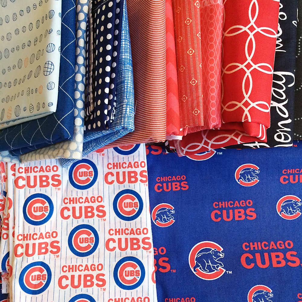 Cubs Quilt Fabric