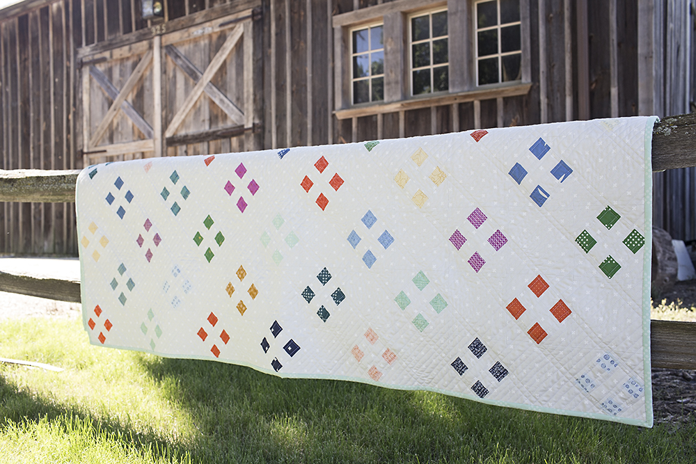Four Square Quilt : Fresh Lemons Quilts