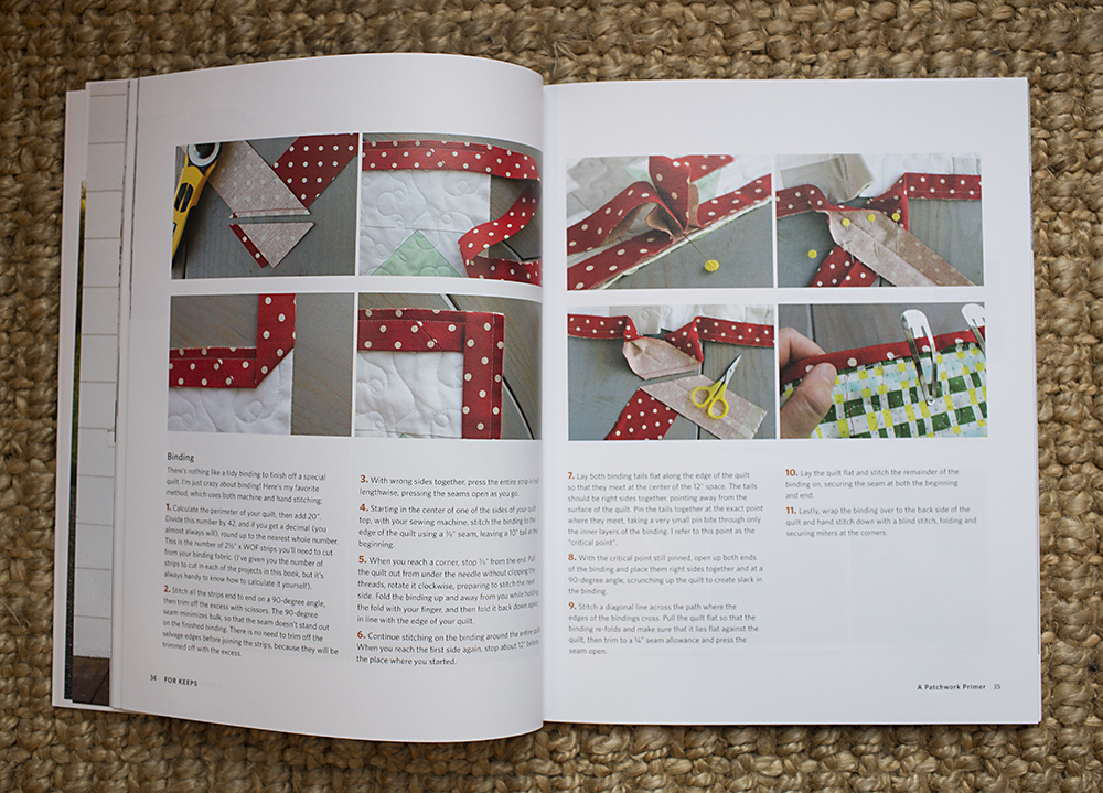 For Keeps : Meaningful Patchwork for Everyday Living by Amy Gibson : Fresh Lemons Quilts