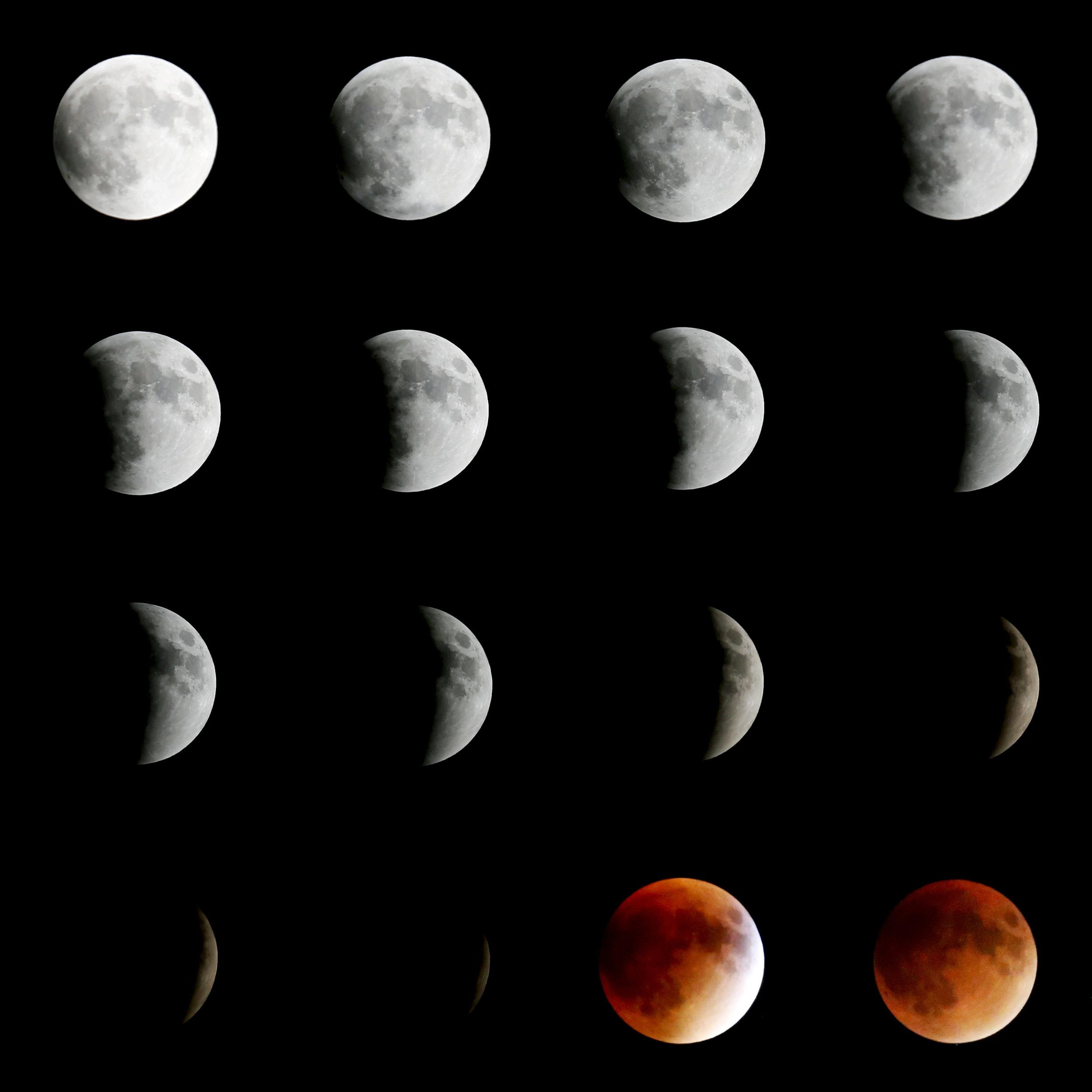 Lunar Eclipse : Fresh Lemons Quilts