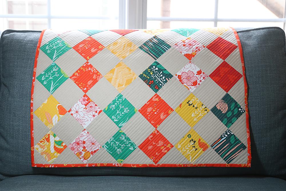 Fall Mini Quilt : Fresh Lemons Quilts