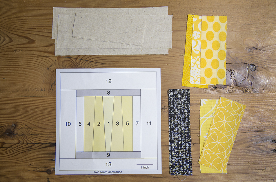 Tall Strings Spool Quilt Block : Fresh Spool Series at Fresh Lemons Quilts