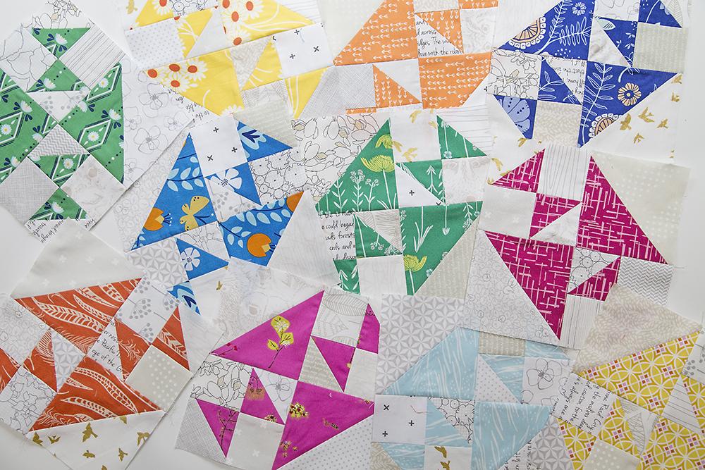 Crosses and Losses quilt blocks : Fresh Lemons Quilts