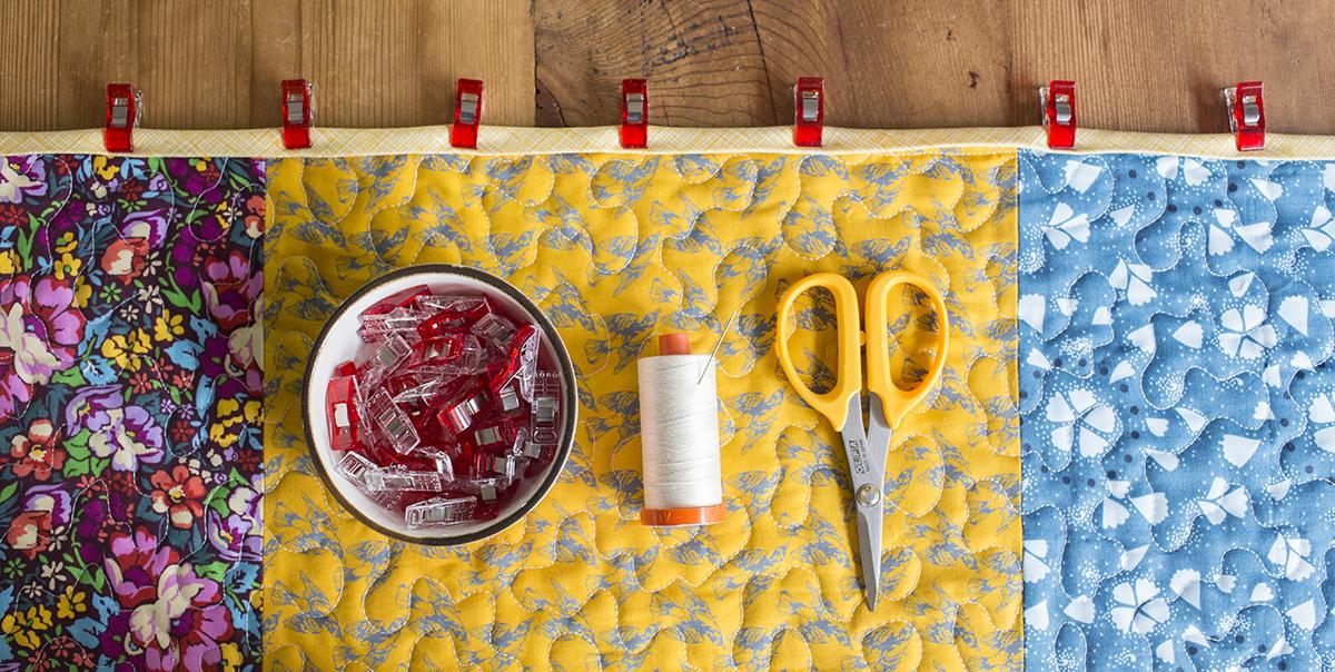 Double Fold Binding Tutorial : Fresh Lemons Quilts