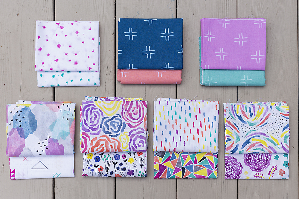 Brush Strokes by Holly DeGroot for Cloud9 Fabrics