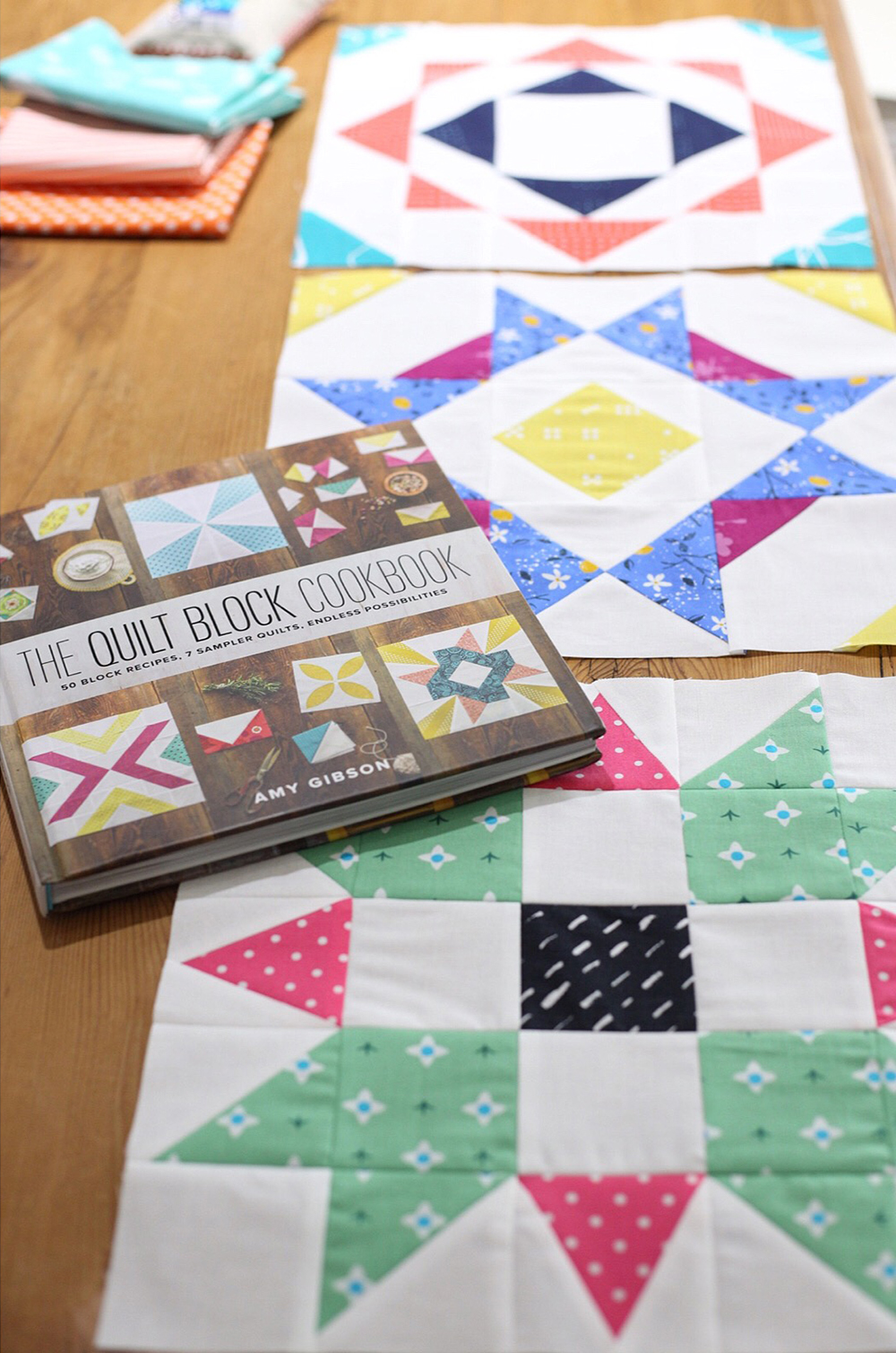 The Quilt Block Cookbook by Amy Gibson : Fresh Lemons Quilts
