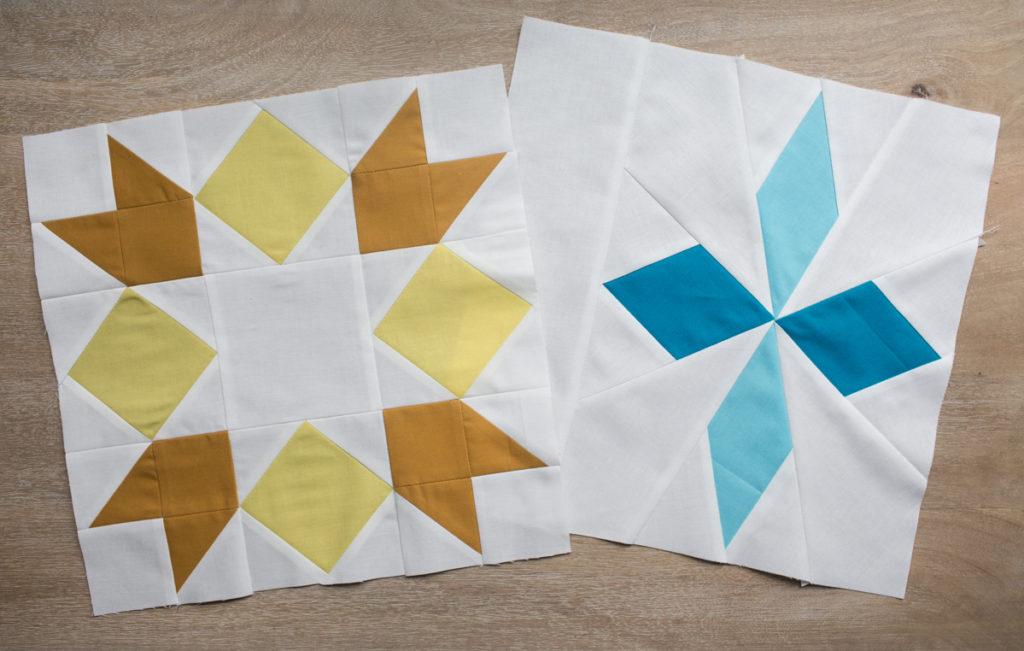 Sugarplum Table Runner Blocks by Fresh Lemons Quilts