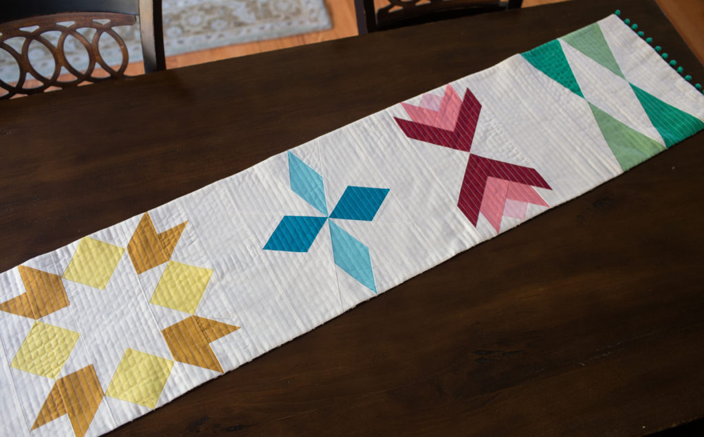 Sugarplum Table Runner by Fresh Lemons Quilts