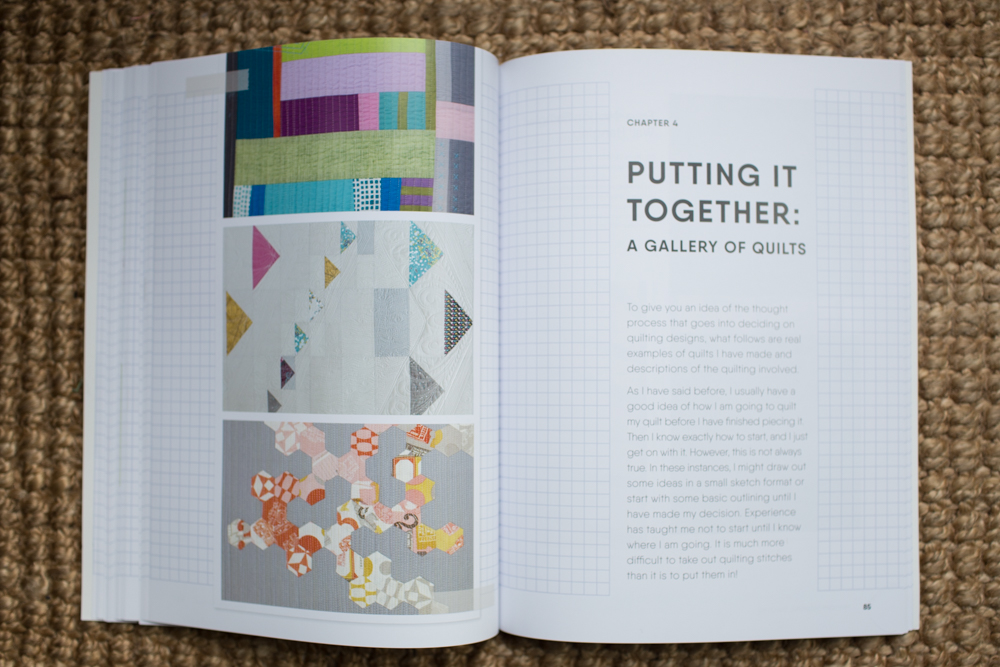 Modern Machine Quilting by Catherine Redford // Fresh Lemons Quilts