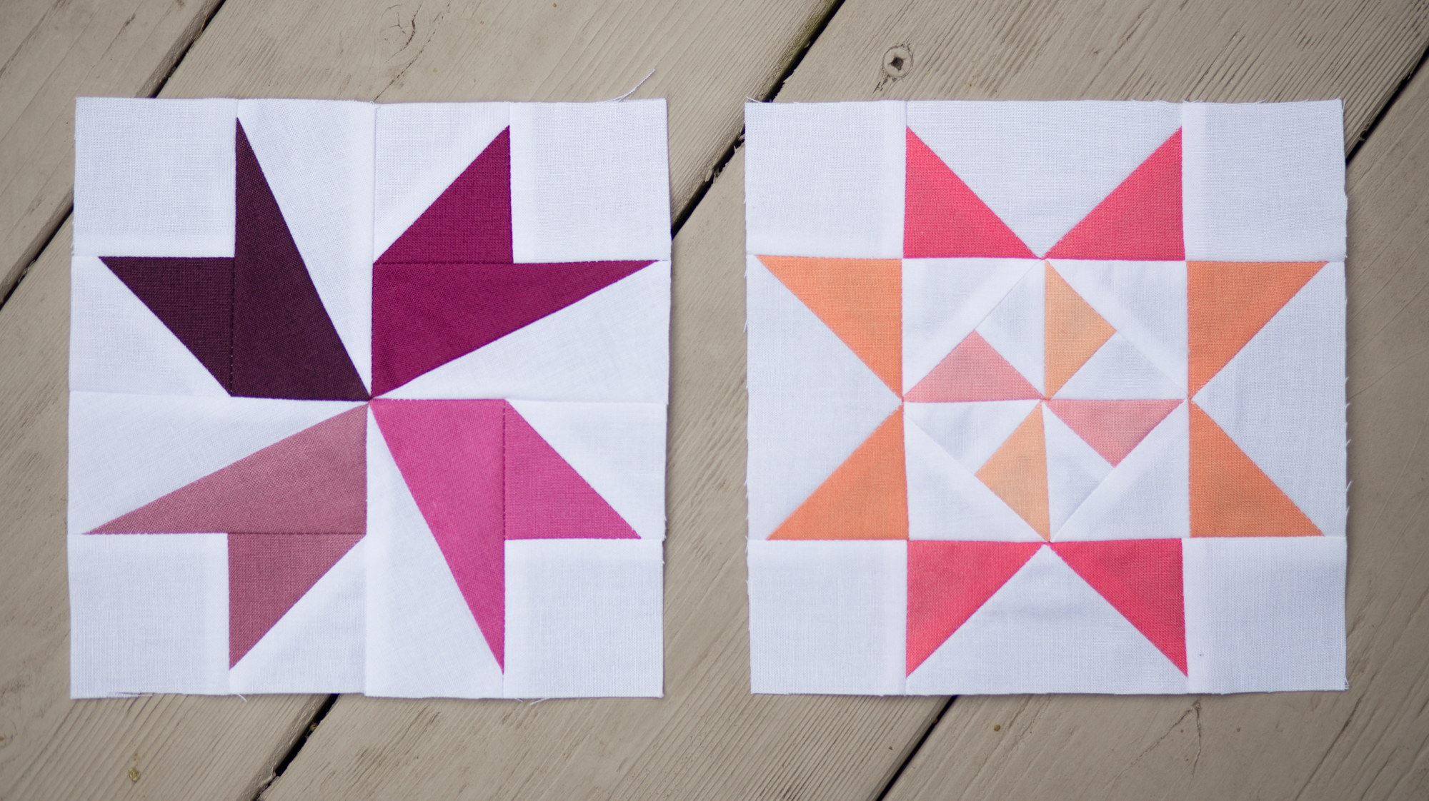 Millcreek and Tilted Star ~ Summer Sampler Series