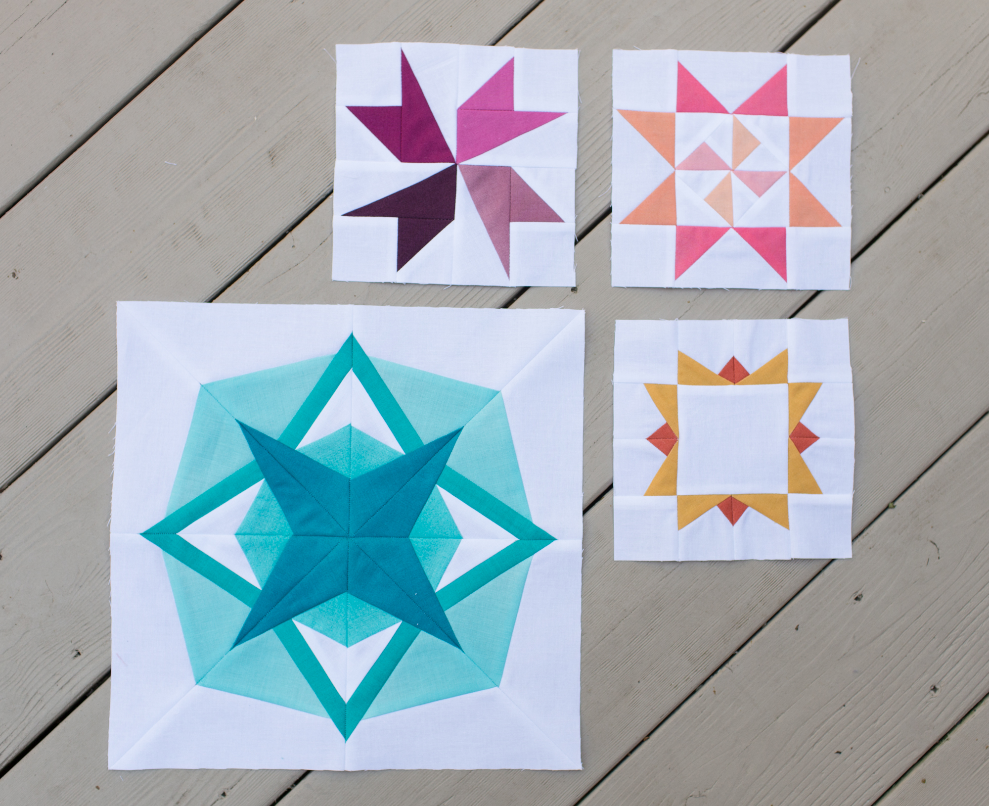 Celestial and Rosetta Star ~ Summer Sampler Series