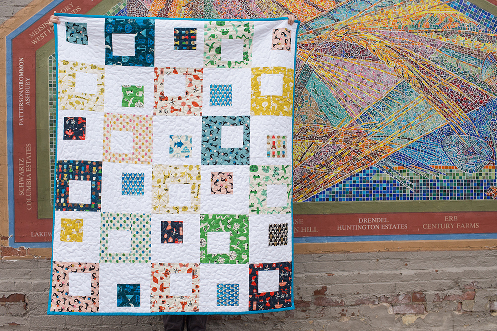 A Spectacle Quilt Pattern for Project Linus : Fresh Lemons Quilts