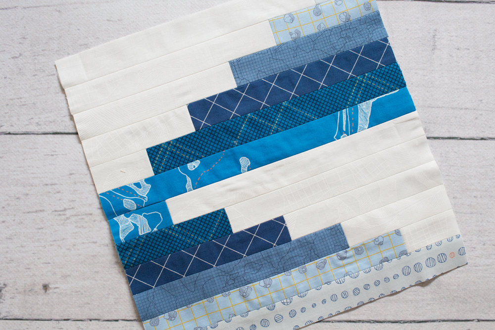 Water Well block by Katie Blakesley for Summer Sampler 2018