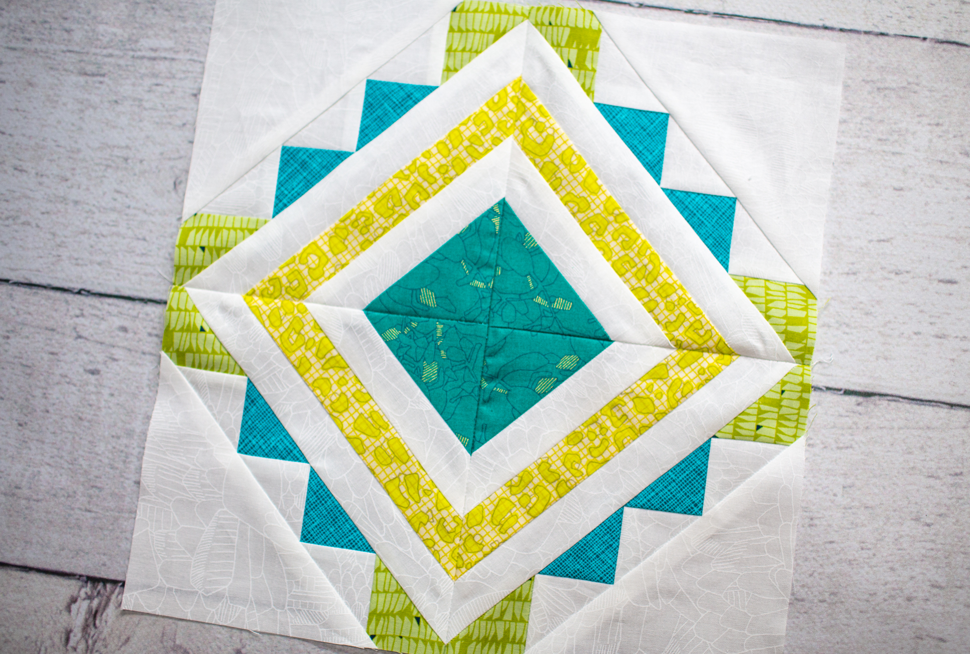 Pisa ~ Summer Sampler 2018 Quilt Along