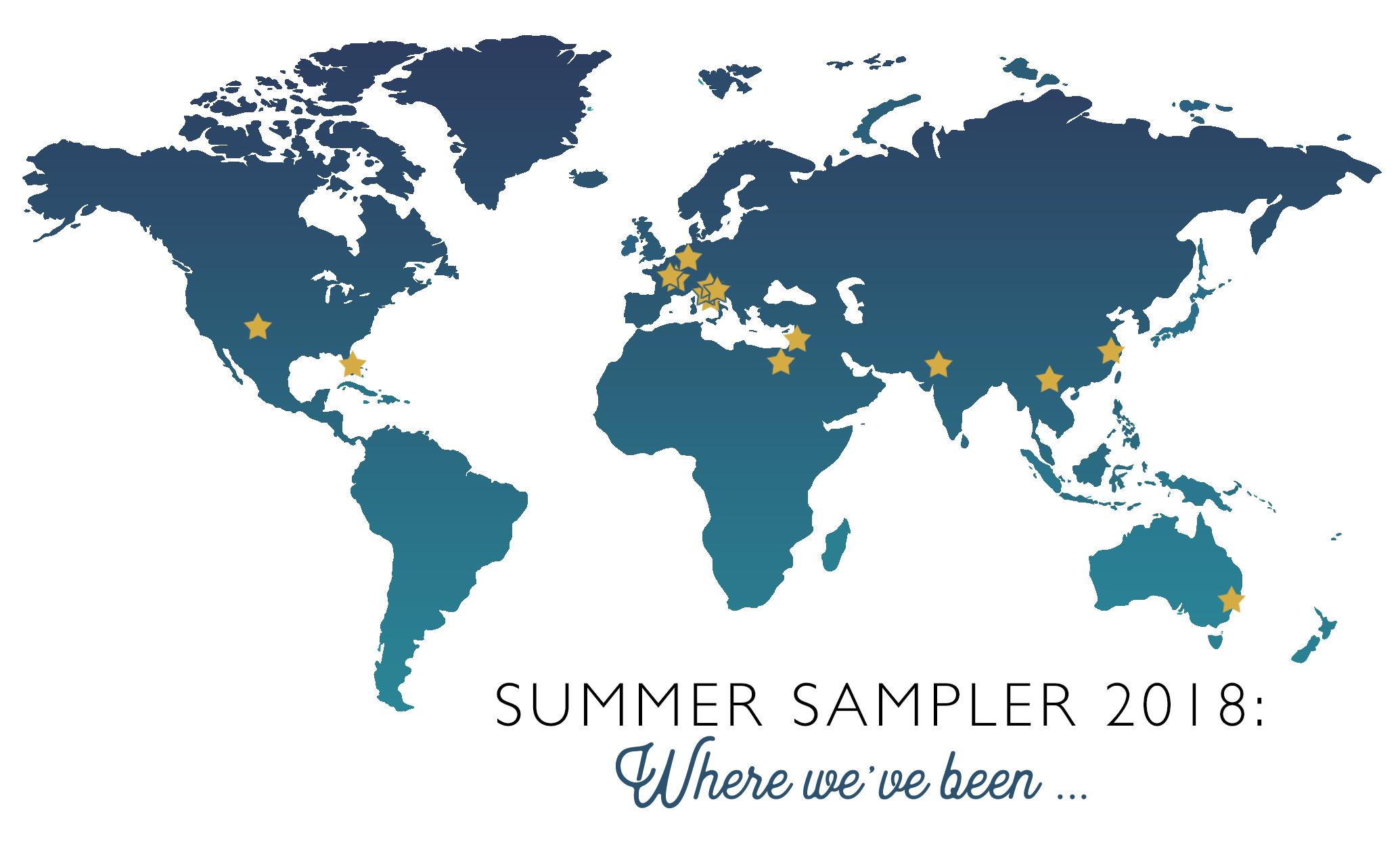 Summer Sampler Series 2018 Quilt Along : Summer Road Trip