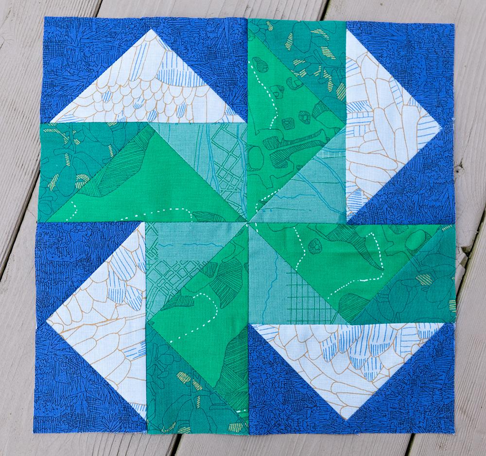 Dutchman's Puzzle Pattern ~ Fresh Lemons Quilts