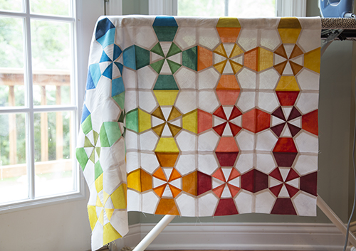 Week 4 : Lighthouse Quilt Top Assembly -
