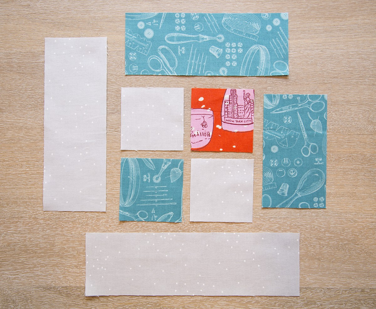 Week 1 : Fabric Requirements, Cutting and Block Instructions -