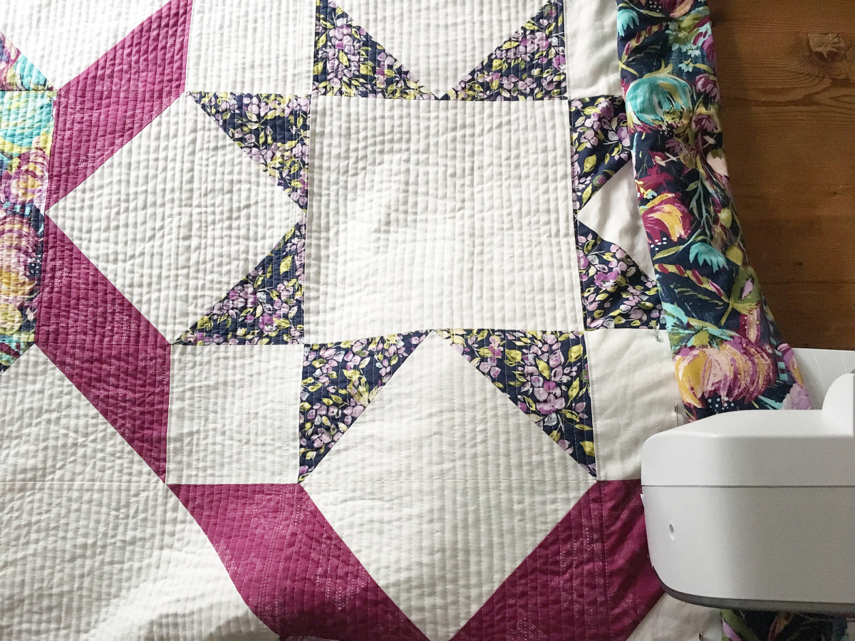 Week 3 : Quilt Top Assembly, Quilting, Finishing Up -