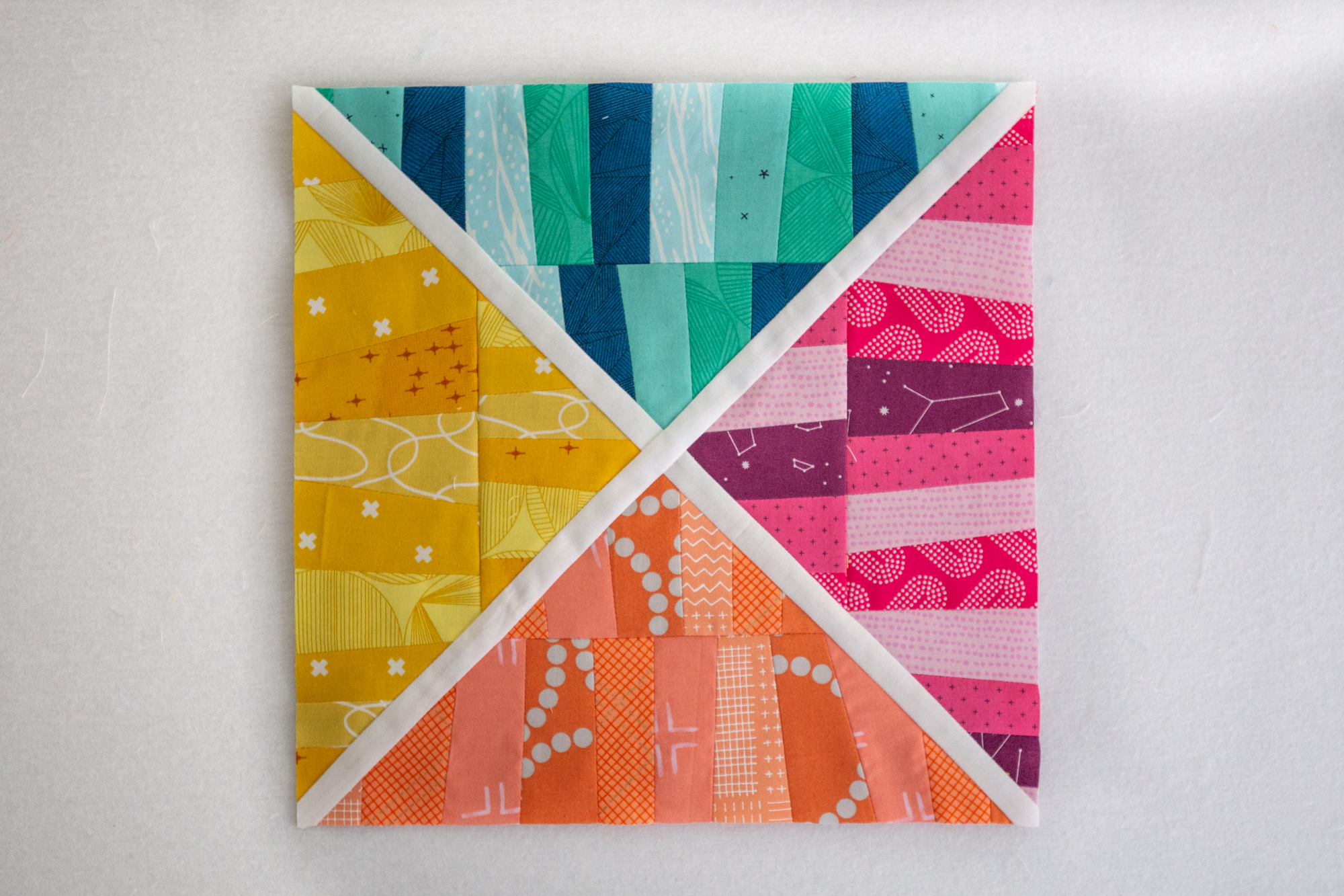 Curious Crossing designed by Krista Hennebury for Summer Sampler 2019