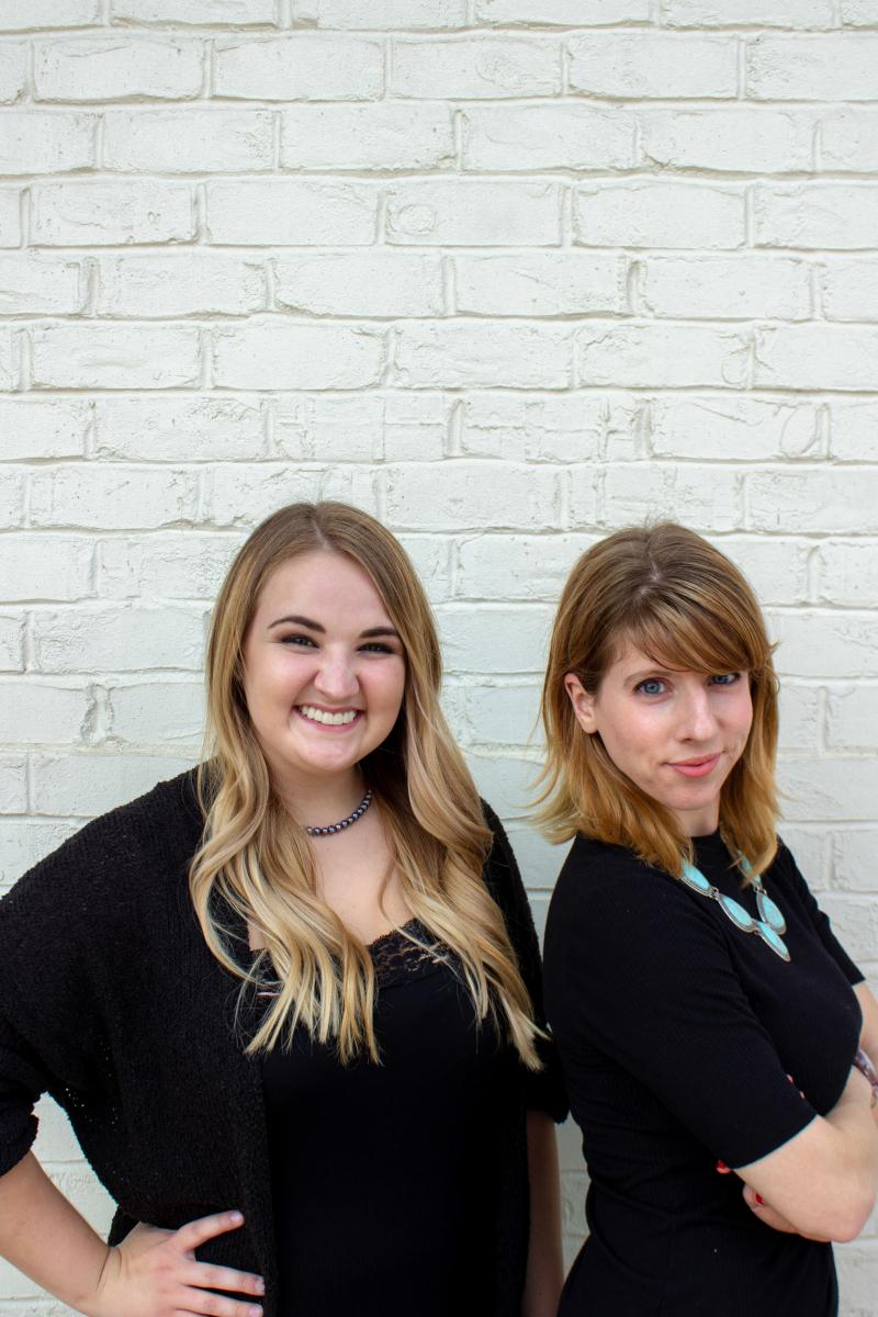Jorden Cook and Maggie Suydam,  Support Staff  Chances are, if you call or visit the salon, you will encounter one of these lovely ladies. These two are proud to work alongside such a talented group of artists that are committed to education and customer service. Their goal is to surpass each client's expectations from start to finish!  Jorden moved to Tennessee from Maryland in 2016 and has 8 years in salon Guest Services.  In her free time, she enjoys hiking with her husband and dance parties in the living room with her precious daughter.  Maggie is a newcomer to the world of beauty, but quickly proved to be a natural. She has a strong background in retail and management.  In Maggie's free time, you will most likely find her behind her camera or walking her fur-baby, Rhett.  Artistry SPASALON is so grateful to have a staff so dedicated to our team and guests.