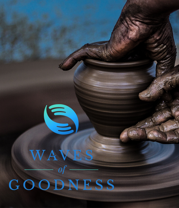 Waves of Goodness - You are an influence for good. Like a ripple of water, it expands outward—connecting, adding, growing. See where it goes.