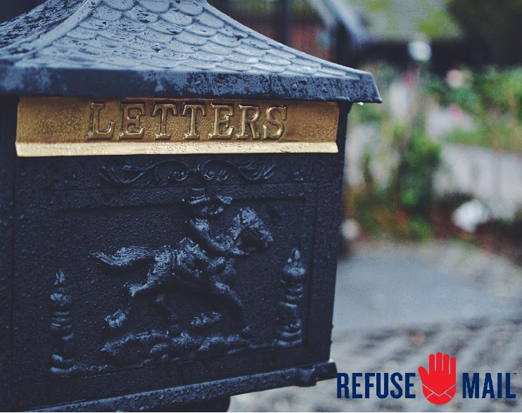 Refuse Mail - You have the right to stop junk mail. For good. We want to make this change without loss of government jobs and without minimizing marketing for companies.