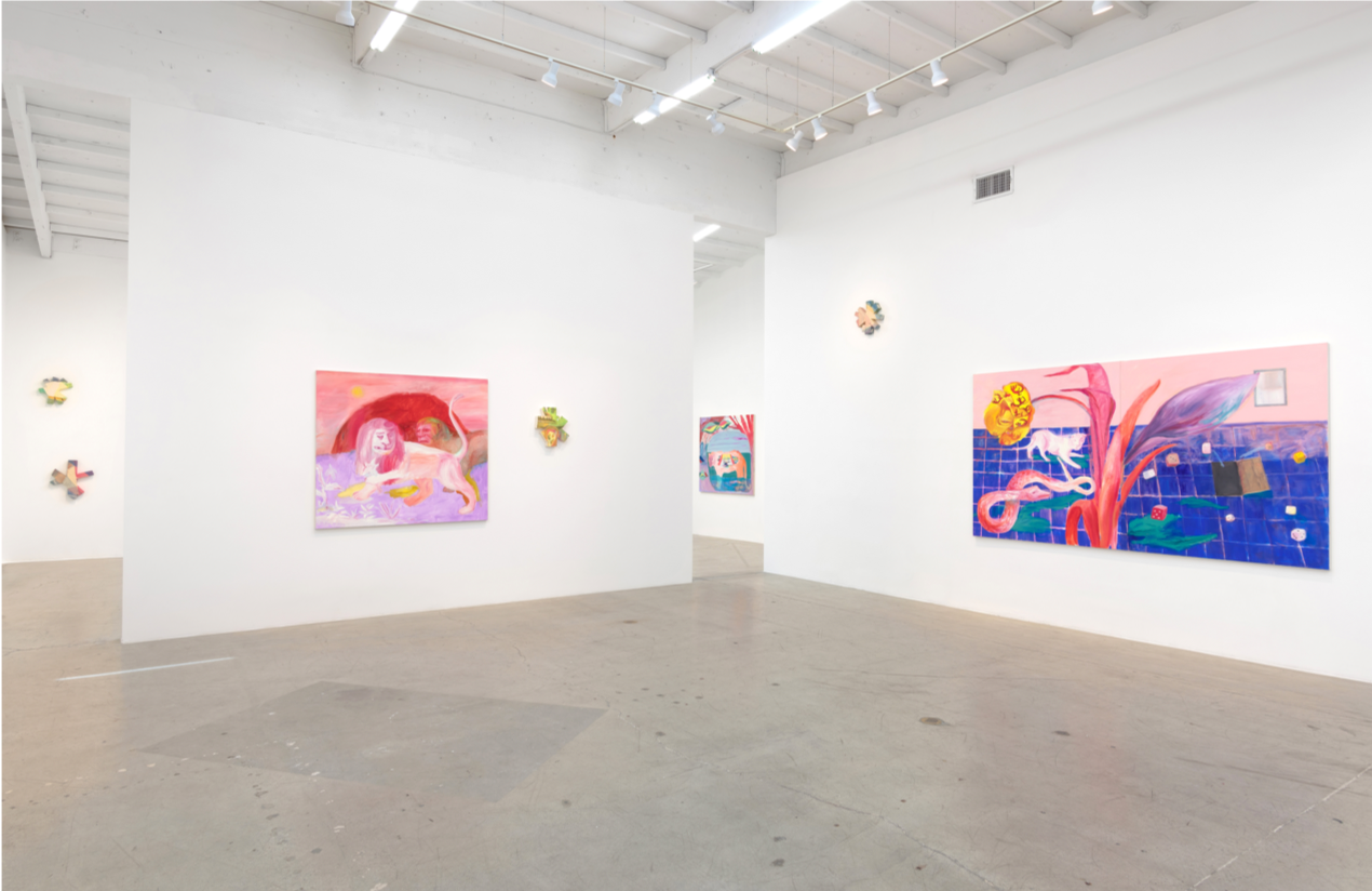 Installation view of solo exhibition at China Art Objects, 2016