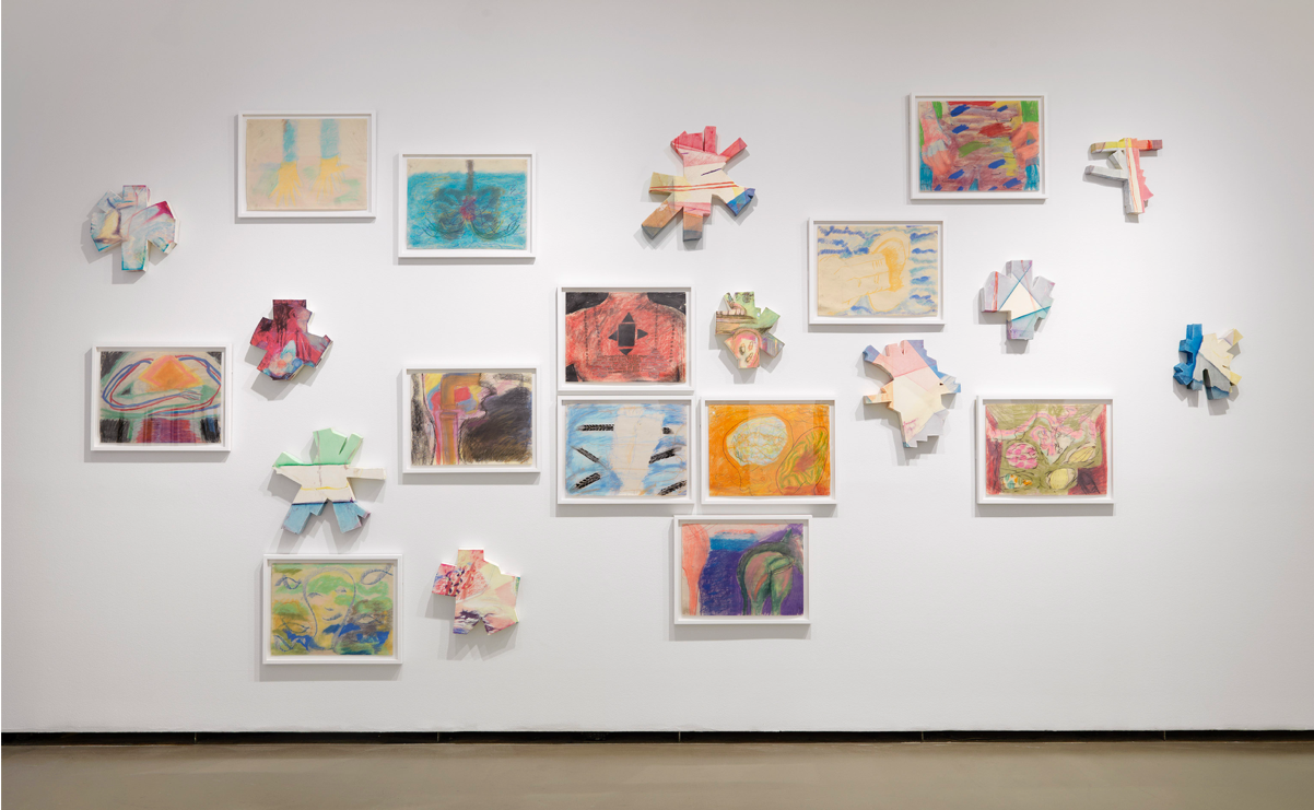 Installation view at the Vancouver Art Gallery, 2017