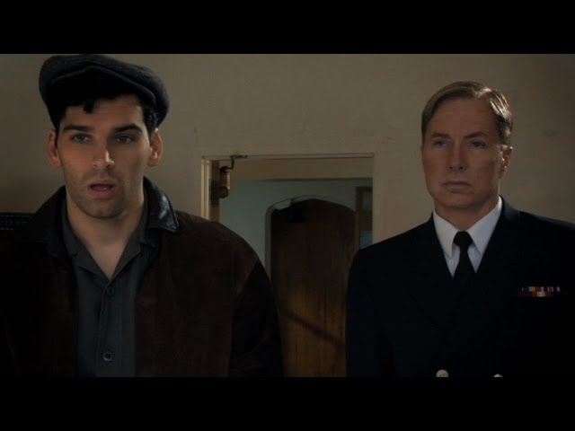 """With Lee Perkins in """"The Red Machine"""", 2009"""