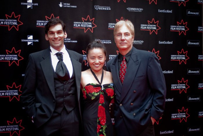 At Edinburgh Film Festival with Madoka Kasahara and Lee Perkins (2010)