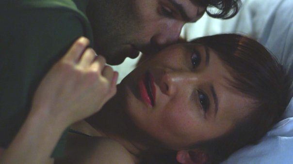 Production still from  Almost There  by Masami Kawai with Veanne Cao (2012)
