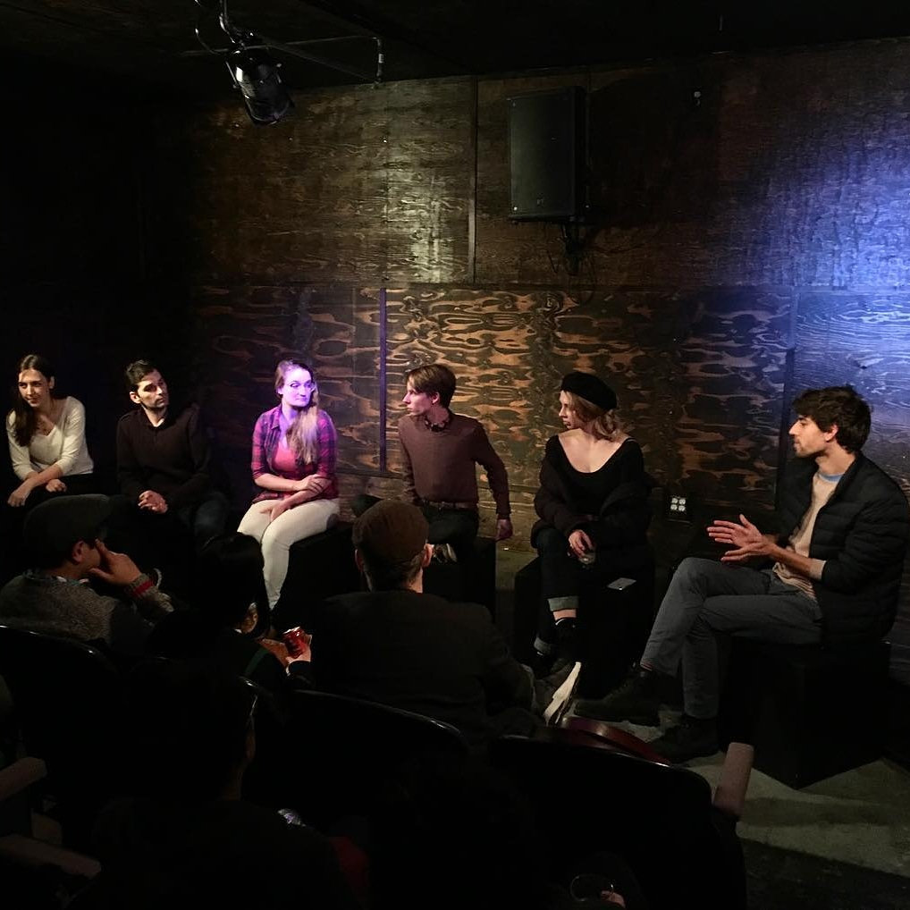Q&A with fellow writers at the 2017 Pull Festival
