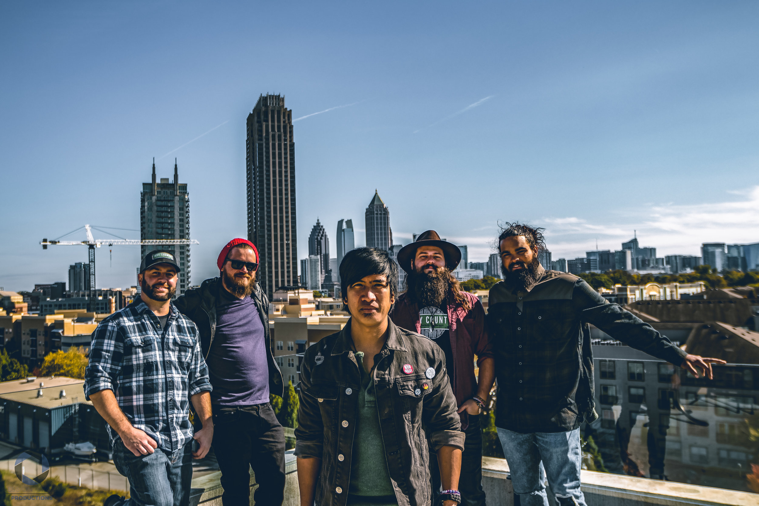 chip mcguire band atlanta rooftop session street productions changing lanes java records