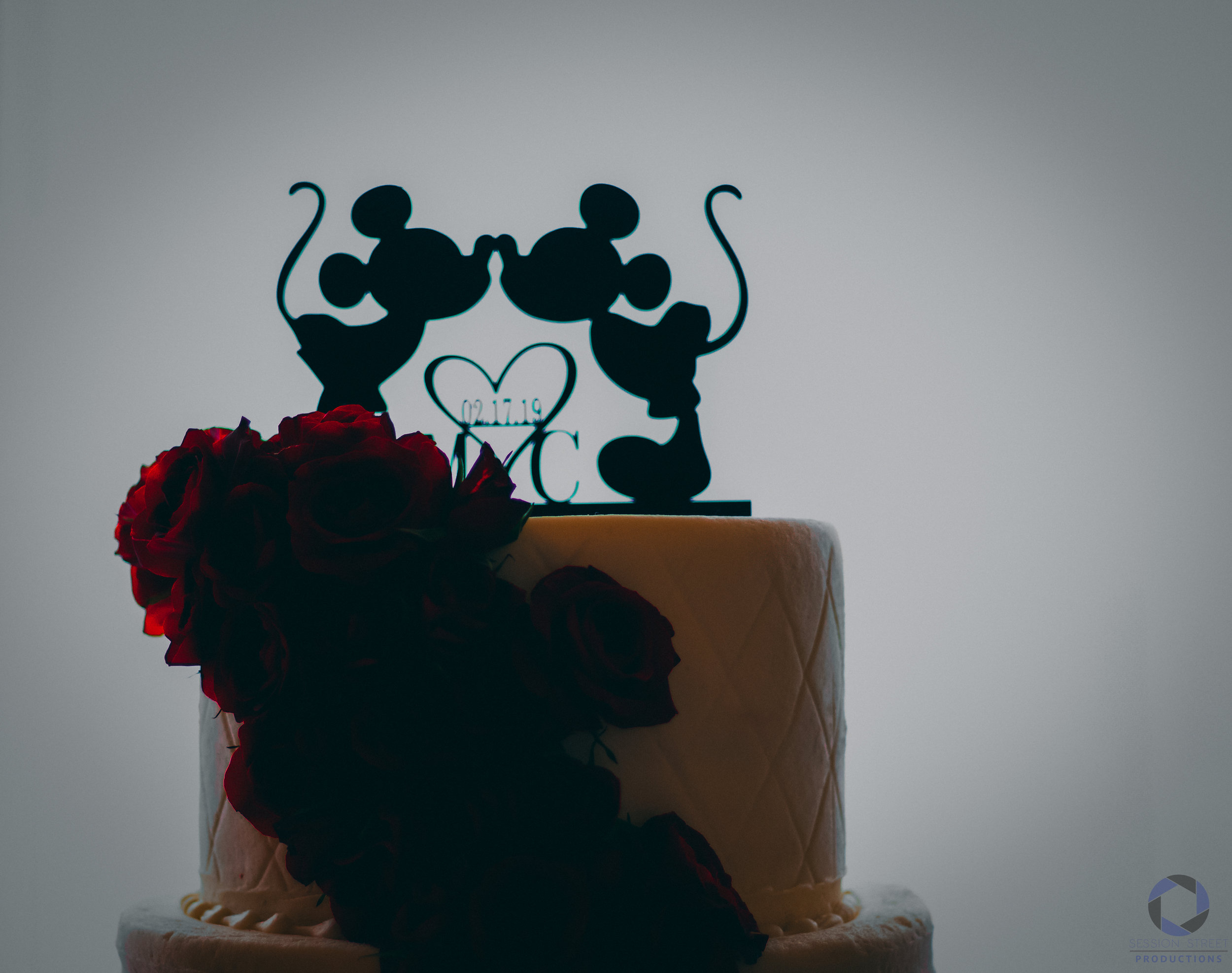 wedding cake mickey mouse session street productions