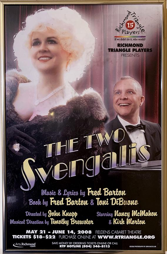 THE TWO SVENGALIS, Richmond Triangle Players