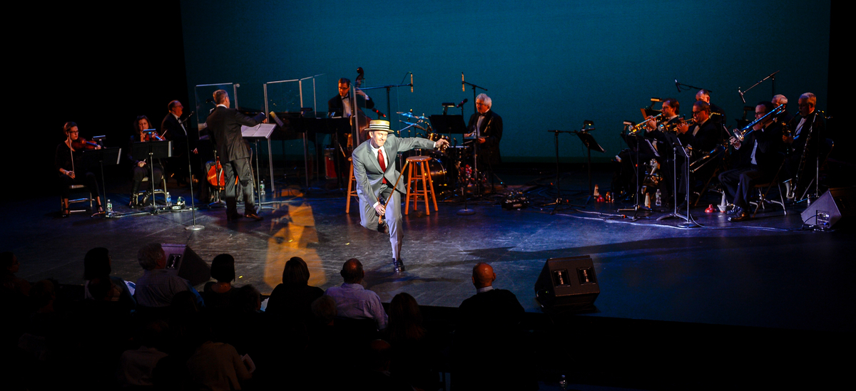 Performer-Choreographer JEFFRY DENMAN with THE FRED BARTON ORCHESTRA