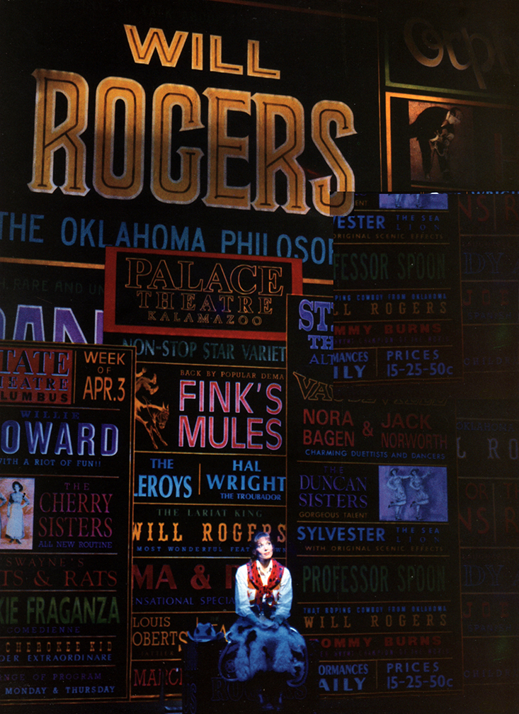 """Dee Hoty sings """"My Big Mistake"""" in THE WILL ROGERS FOLLIES"""