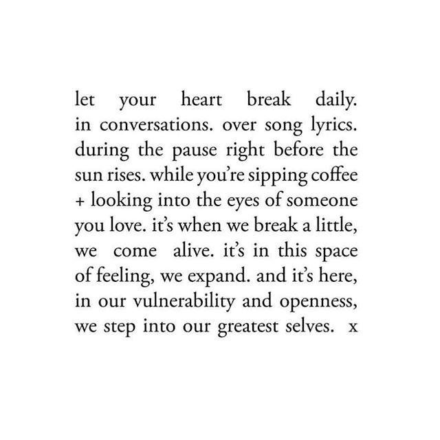 Vulnerability ➕ moments = ✨