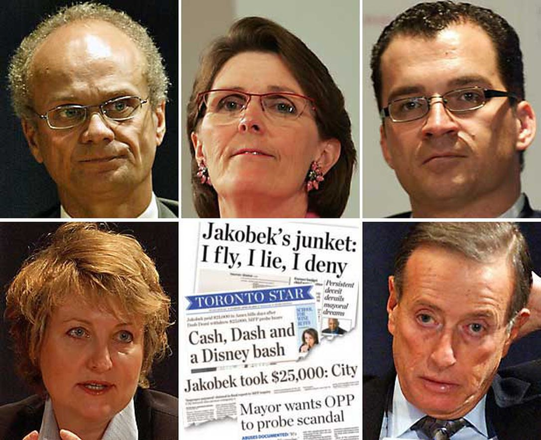 The key players in the MFP Scandal