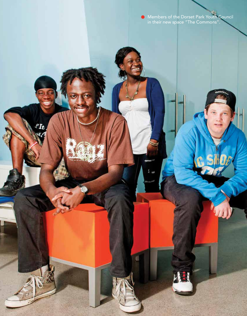 Among other initiatives, the Youth Challenge Fund supported the development of youth spaces in the city.