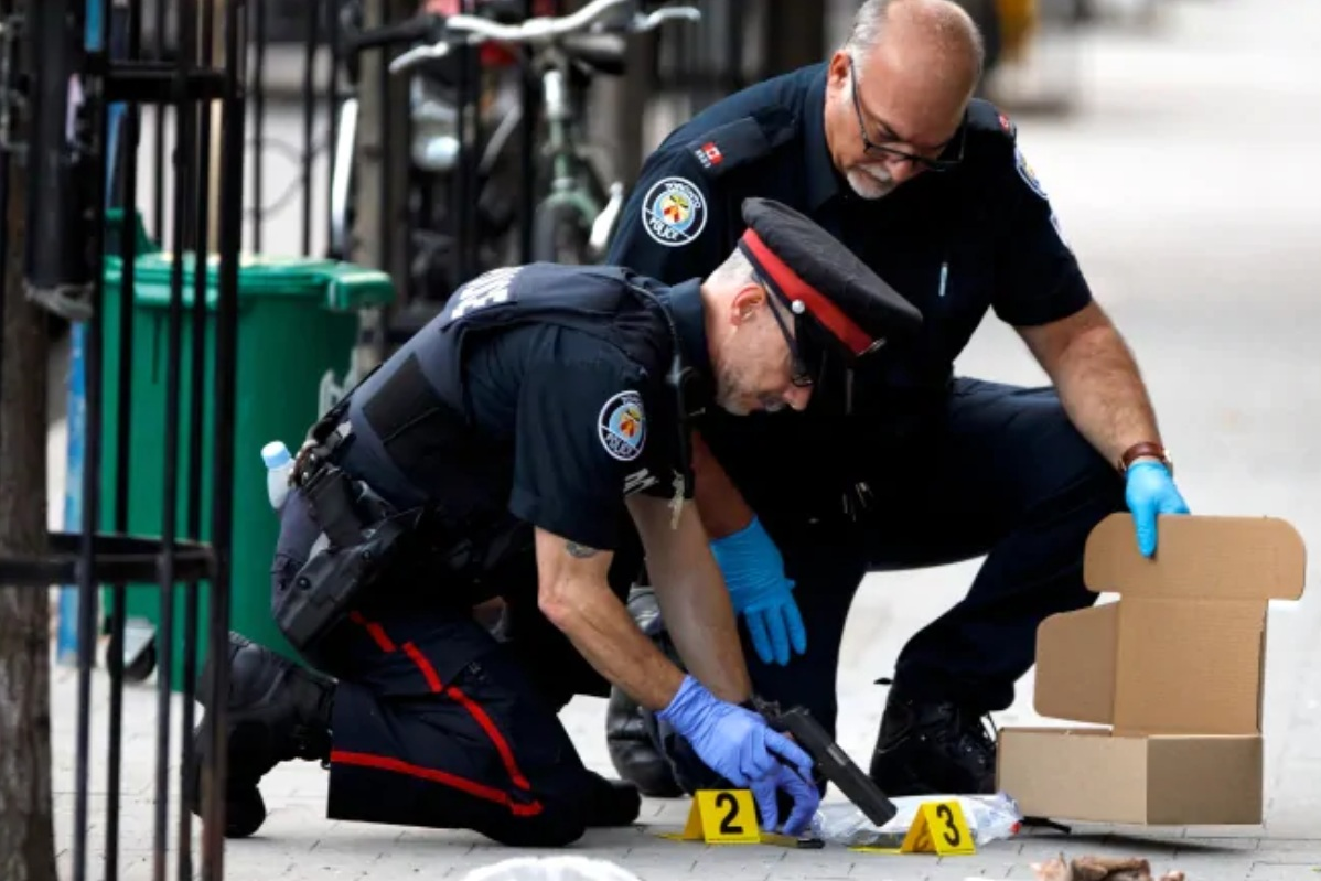 In response to a surge in gun violence, all three orders of government pledged $4.5 million in funding for Toronto police.